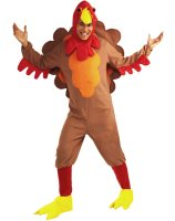 Johnny-O Turkey Adult Costume - Standard (One-Size)