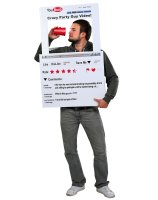 YouBoob Men's Adult Costume