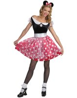 Disney Minnie Mouse Adult Costume - 12-14