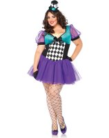 Miss Mad Hatter Adult Plus Costume
