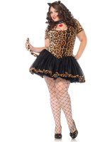 Tantalizing Tabby Adult Plus Costume - 1X/2X