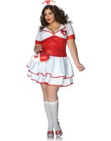 Naughty Nurse Nightengale Adult Plus Costume