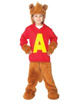 Alvin and the Chipmunks - Alvin Toddler - Child Costume