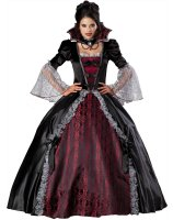 Vampiress of Versailles Elite Adult Costume - Medium
