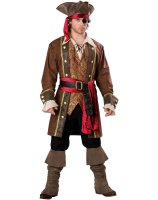 Captain Skullduggery Elite Adult Costume - Medium