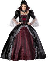 Vampiress Of Versailles Adult Plus Costume - XXX-Large