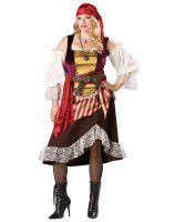 Deckhand Darlin' Adult Plus Costume