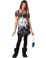 Tribal Spirit Tween Costume - Medium (10/12)
