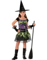 Spellcaster Witch Child Costume - Small (5-7)
