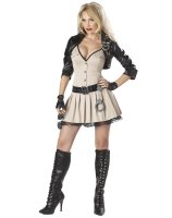 Highway Hottie Adult Plus Costume