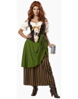 Tavern Maiden Adult Costume - Large