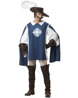 Musketeer Adult Costume - Medium