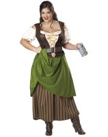 Tavern Maiden Adult Plus Costume - 2X