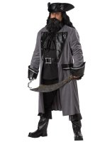 Blackbeard the Pirate Adult Plus Costume - Plus