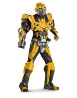 Transformers 3 Dark Of The Moon Movie - Bumblebee 3D Theatrical with Vacuform Adult Costume - X-Large (42-46)