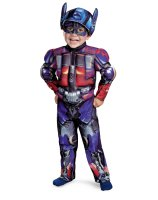 Transformers 3 Dark of the Moon Movie - Optimus Prime Muscle Toddler - Child Costume