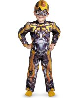 Transformers 3 Dark of the Moon Movie - Bumblebee Muscle Toddler - Child Costume