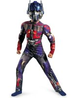 Transformers 3 Dark of the Moon Movie - Optimus Prime Muscle Child Costume
