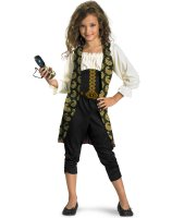Pirates of the Caribbean 4 On Stranger Tides - Angelica Child Costume - Medium (7/8)