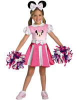 Mickey Mouse Clubhouse - Minnie Mouse Cheerleader Toddler - Child Costume