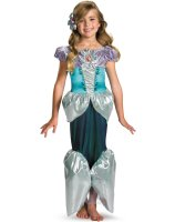 Disney Princess - Ariel Lame Deluxe Toddler - Child Costume - Medium (7/8)