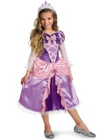 Tangled - Rapunzel Lame Deluxe Toddler - Child Costume
