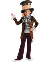 Alice in Wonderland Movie - Mad Hatter Child Costume - Medium (7/8)
