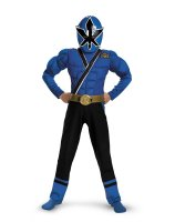 Power Rangers Samurai - Blue Ranger Muscle Child Costume