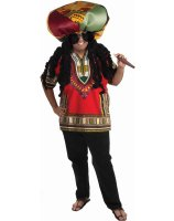 Rasta Ridiculous Adult Costume