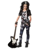 Rocked Out Zombie Tween Costume
