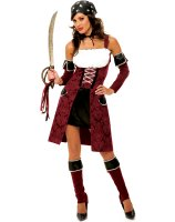 Wicked Neverland Captain's Mate Adult Costume