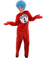 Dr. Seuss The Cat in the Hat - Thing 1 and Thing 2 Adult Costume - L/XL (14-16)