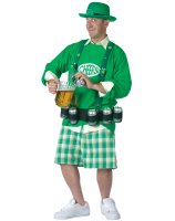 Cheers N' Beers Adult Costume - One-Size (Standard)