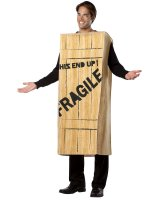 A Christmas Story - Fragile Wooden Crate Adult Costume - One Size Fits Most Adults