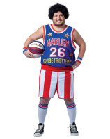 Harlem Globetrotters Adult Plus Costume