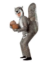 Squirrel Adult Costume - One Size Fits Most Adults