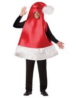 Santa Hat Adult Costume