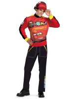 Disney Cars Lightning Mcqueen Adult Costume