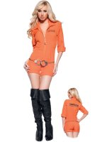 Busted Adult Costume - Large