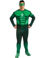 Green Lantern Movie - Deluxe Light Up Hal Jordan Adult Plus Costume