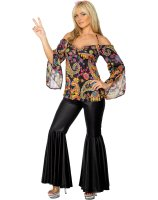 Hippie Adult Plus Costume - 1X