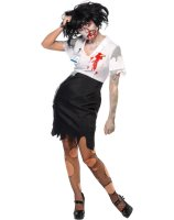 Worked To Death - Office Zombie Female Adult Costume