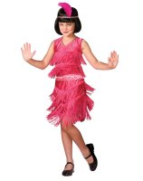 Pink Flapper Child Costume - Medium