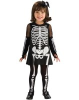 Skeleton Girl Toddler Costume - Toddler
