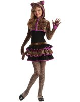 Leopard Tween Costume - Tween Medium
