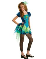 Peacock Tween Costume - Tween Medium