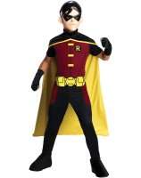 Young Justice - Robin Child Costume - Medium