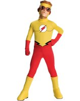 Young Justice - Kid Flash Child Costume - Small