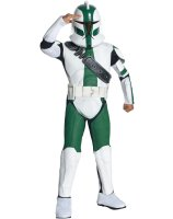 Star Wars The Clone Wars - Clone Trooper Commander Gree Child Costume