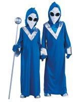 Complete Alien Child Costume - Large (12/14)